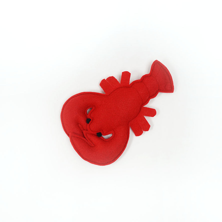 Lobster catnip toy