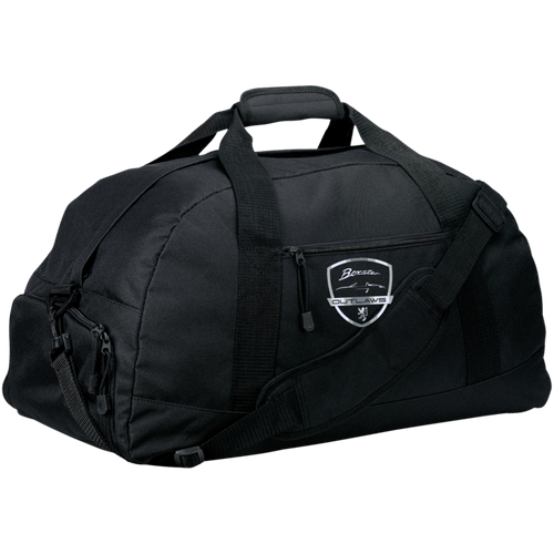 Port & Co. Basic Large-Sized Duffel Bag-Shield Logo
