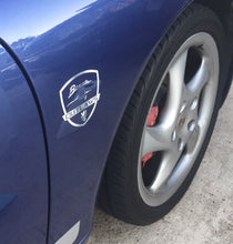 Plotted Vinyl Decals - Lion Shield Logo