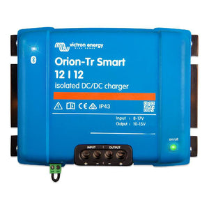 DC-DC 12V-12V Victron Energy Orion Tr-Smart 18A 220W Battery to Battery Charger Caricabatterie