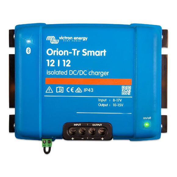DC-DC 12V-12V Victron Energy Orion Tr-Smart 30A 360W Battery to Battery Charger Caricabatterie