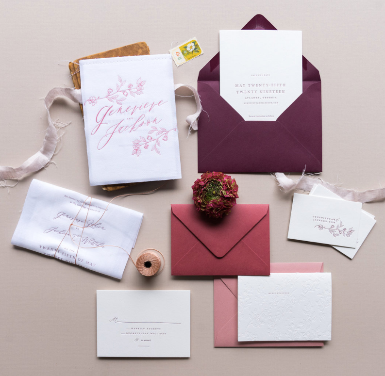 Important tips to consider when ordering your wedding invitations