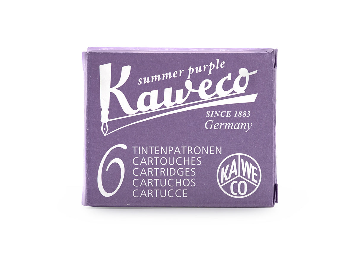 Kaweco Fountain Pen Ink Cartridge, 6 Pack, Choose Your Color
