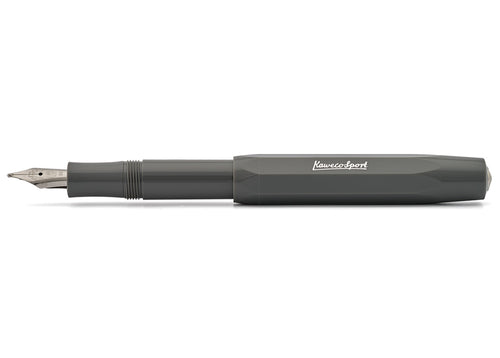 Kaweco Skyline Sport Fountain Pen in Grey, Medium