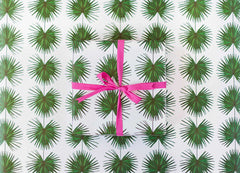Sweet Caroline Palm Wrapping Paper