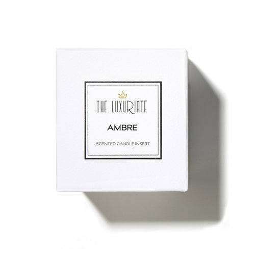 The Luxuriate Ambre Candle Insert