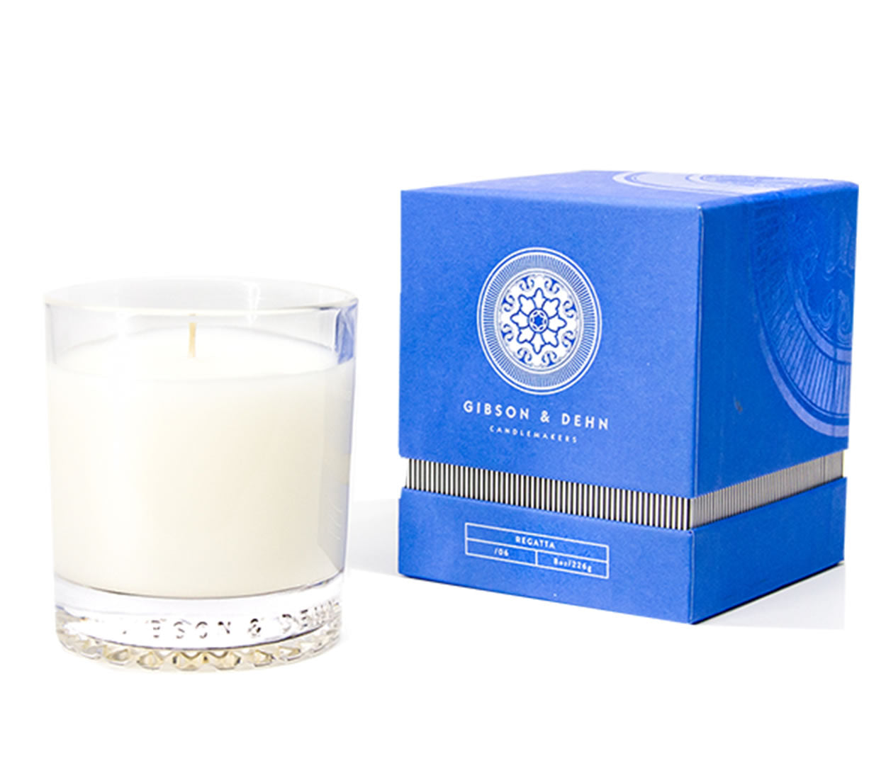 Gibson and Dehn Regatta Candle- Coastline