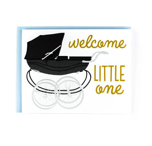 "Sweet Caroline ""Welcome Little One"" Greeting Card"