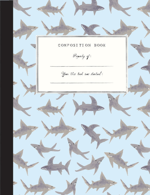 Mr. Boddington Composition Notebook- Sharks