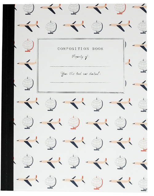 Mr. Boddington Composition Notebook- Travel