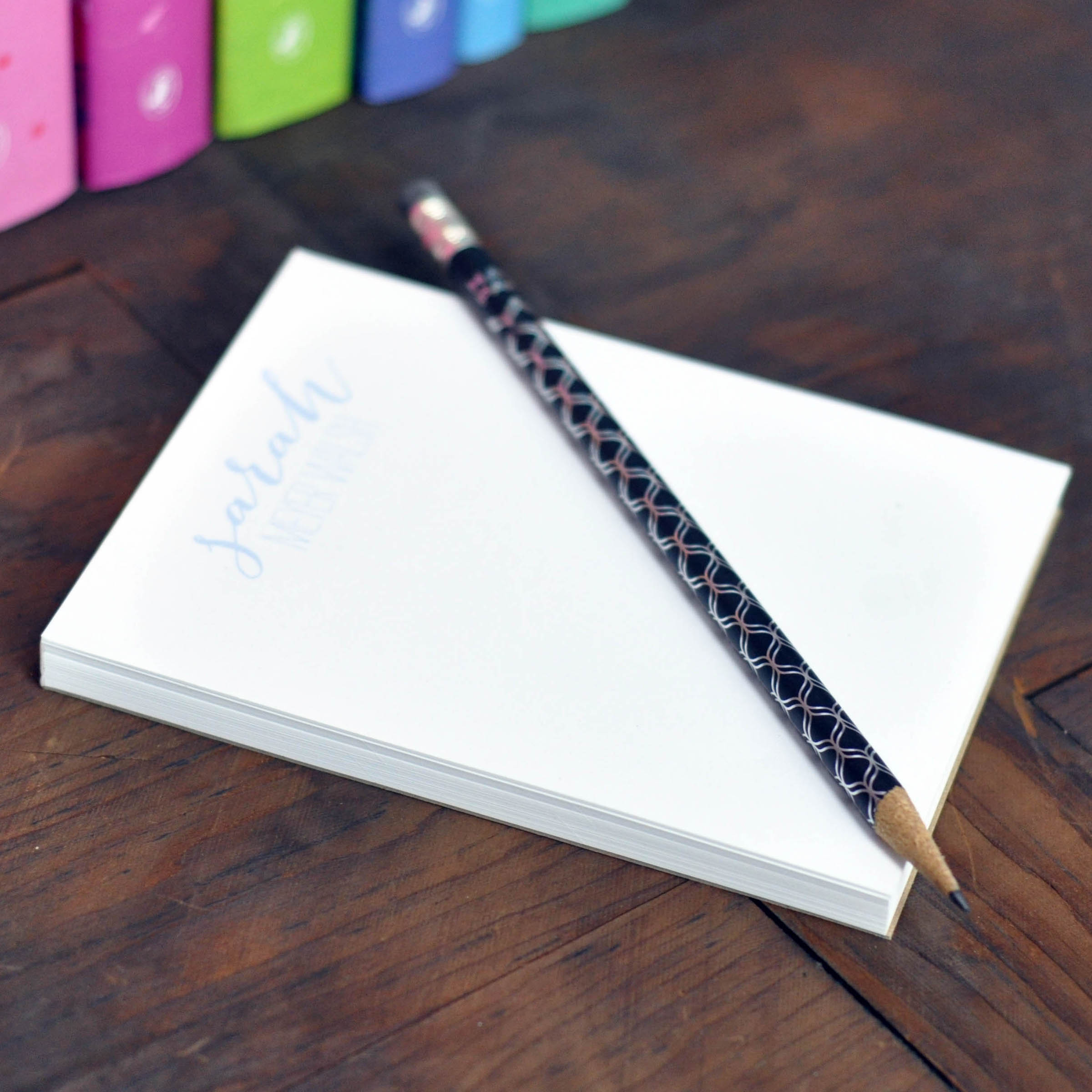 Haute Papier Executive Notepad- Small (Customizable)