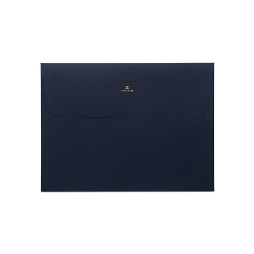 Appointed Navy Blue Document Folders, Set of 4