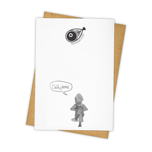 "Tay Ham ""Oh Dolly"" Greeting Card"