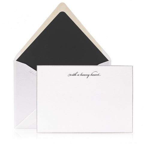 Crane and Co. Hand Engraved Fountain Pen Boxed Cards, Set of 10
