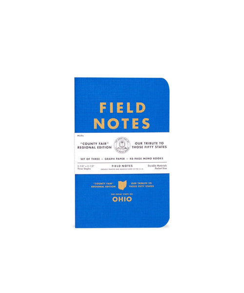 Field Notes County Fair Memo Books - Set of 3