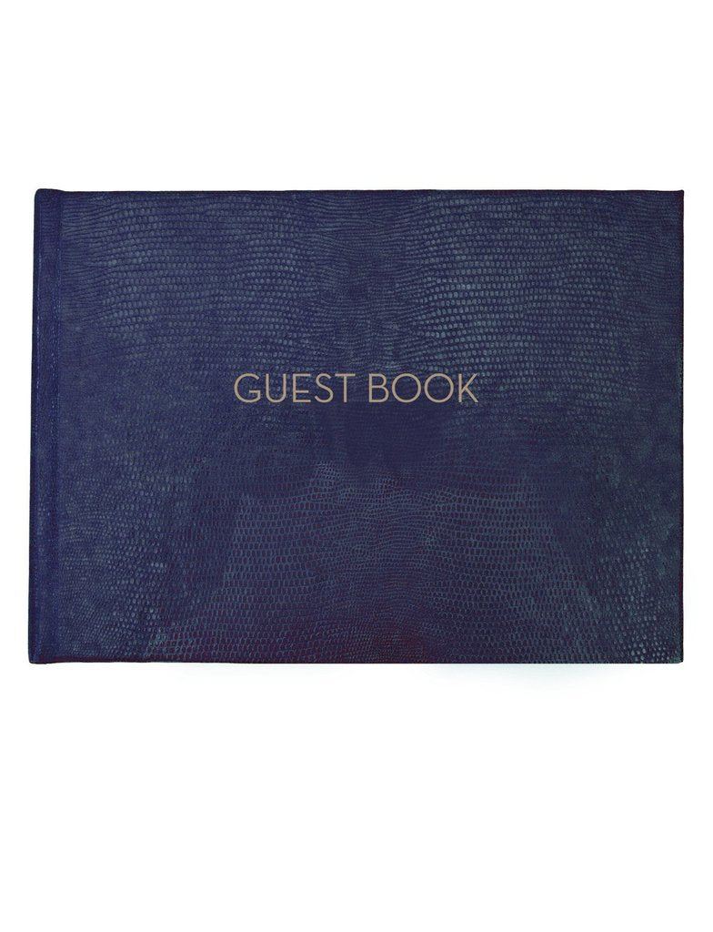 "Sloane Stationery ""Guests"" Guest Book"