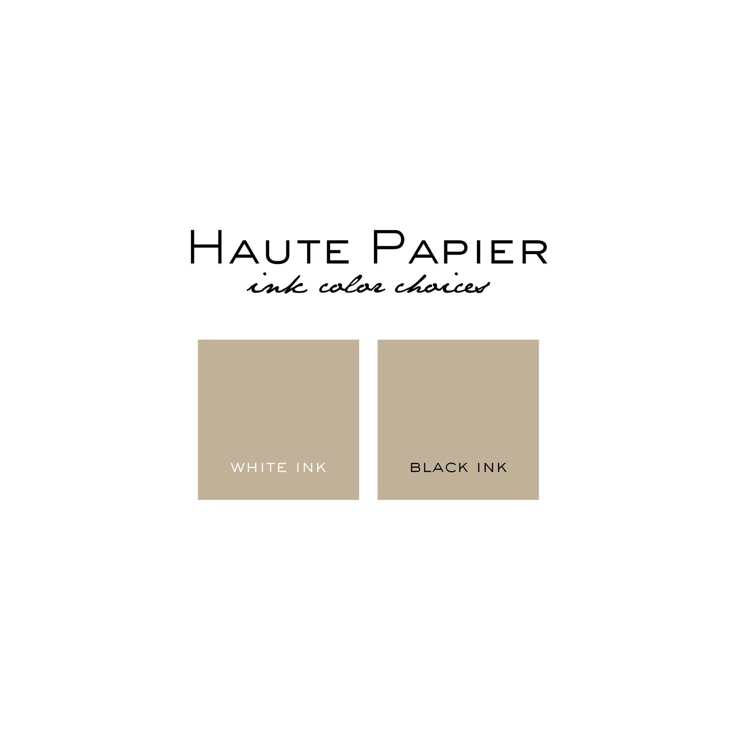 Haute Papier Kraft Notepad- Square (Customizable)