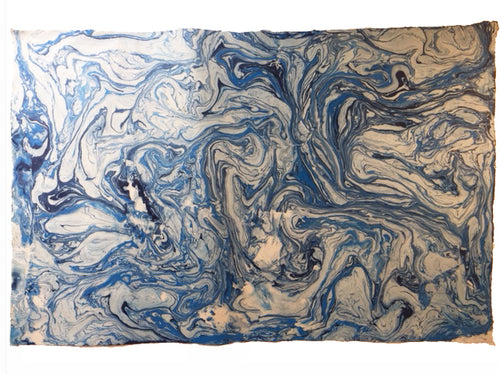Bespoke Designs Lotka Wrapping Paper (1 Sheet)- Blue Marble