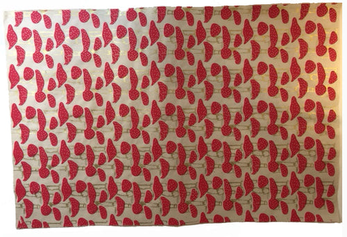 Bespoke Designs Lotka Wrapping Paper (1 Sheet)- Mushrooms