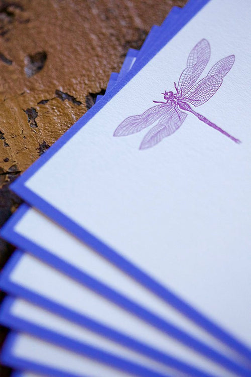 Pickett's Press Letterpress Dragonfly Boxed Stationery