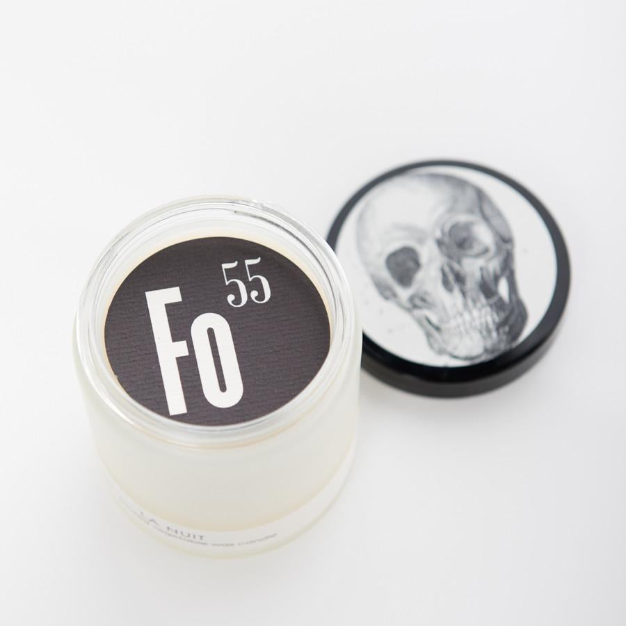Formulary 55 La Nuit Frosted Candle