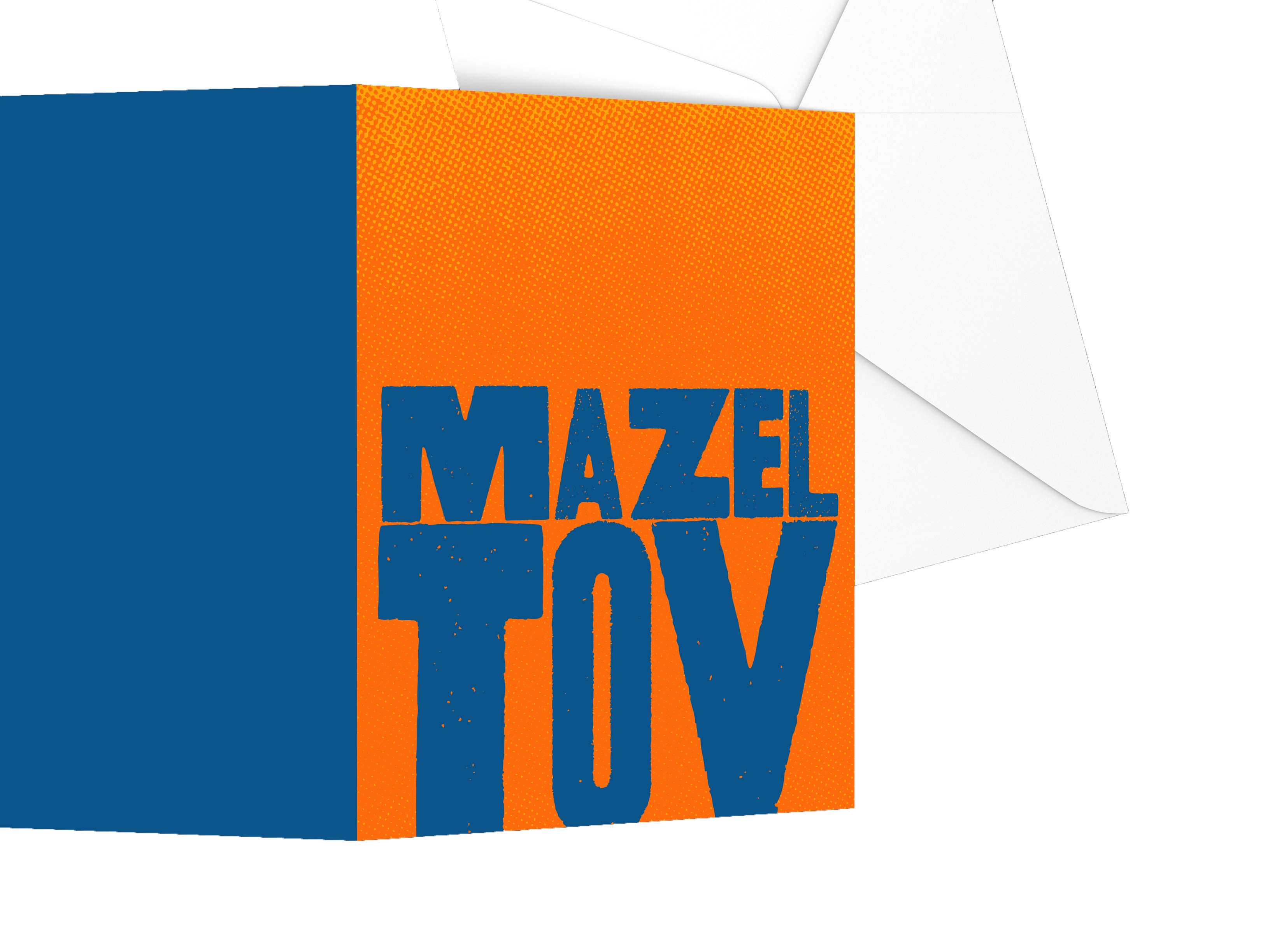 Spinpin Creative Block Mazel Tov Mitzvah Cards, Set of 3