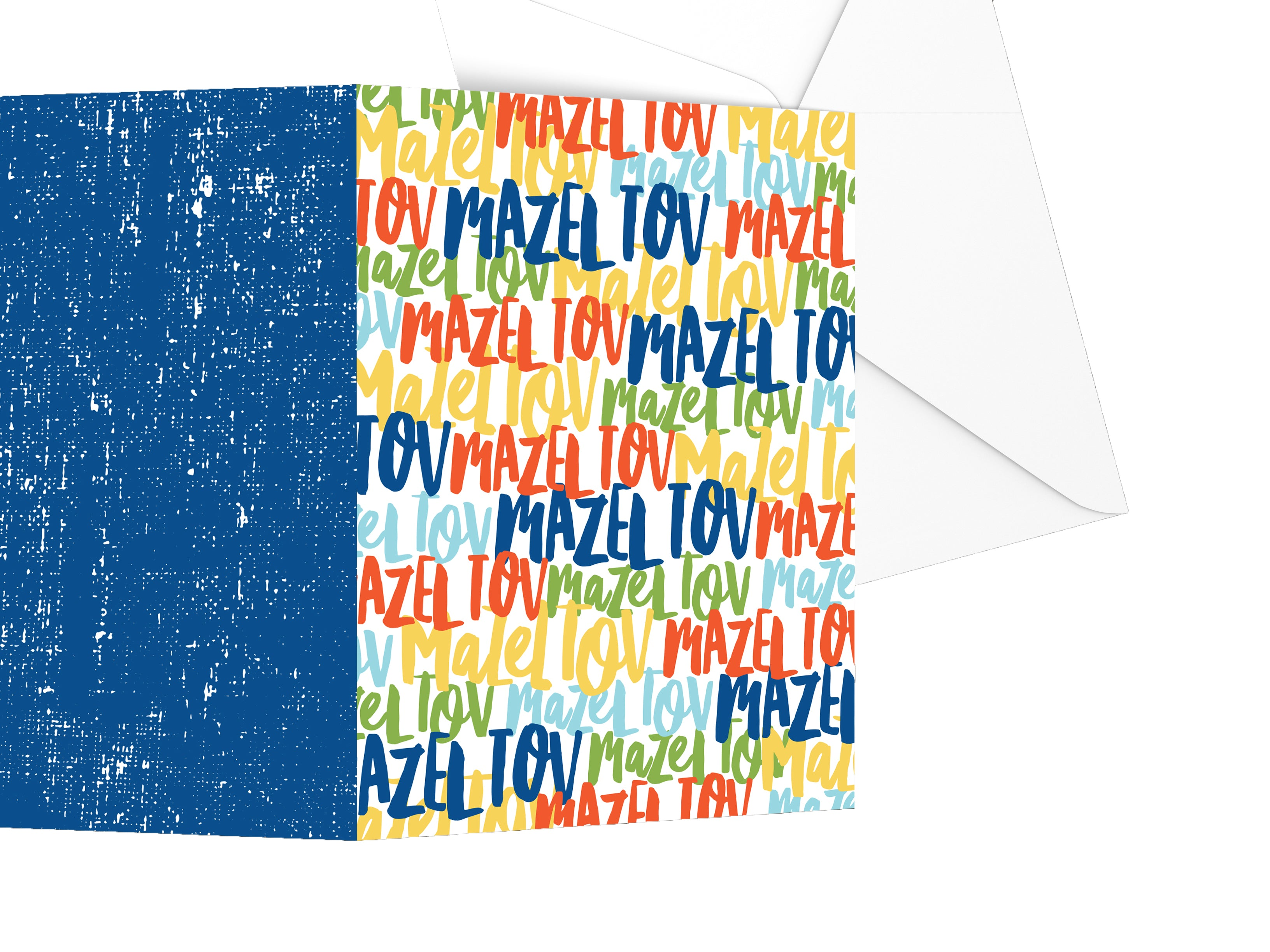 Spinpin Creative Mazel Tov Stars Mitzvah Cards, Set of 3