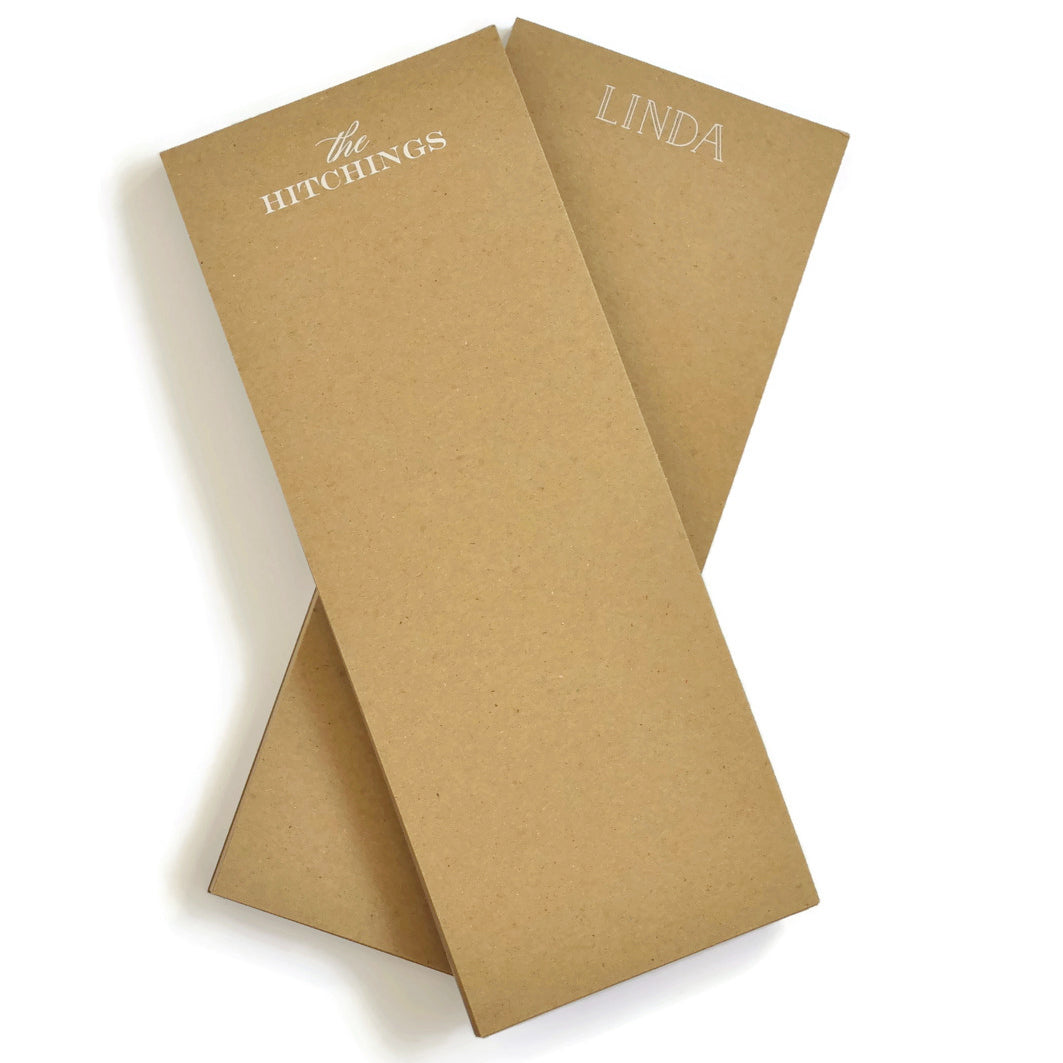 Haute Papier Kraft Notepad-Market Size (Customizable)