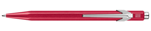 Caran D'ache Metal Ballpoint Pen- Red