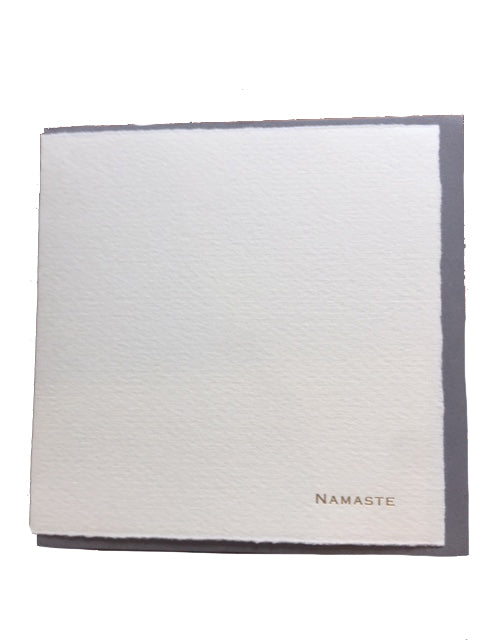 "Soolip ""Namaste"" Greeting Card"