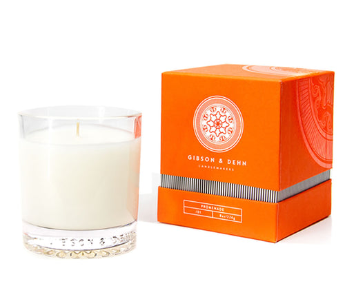 Gibson and Dehn Promenade Candle- Rhubarb and Quince