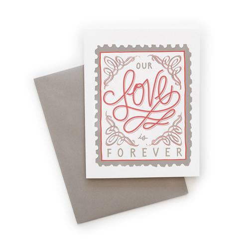 Belle and Union Our Love is Forever Card