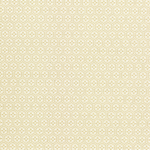 Bell'INVITO Metallic Lotka Wrapping Paper (1 sheet)-Margaret in Gold