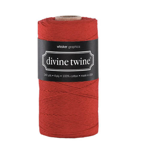 Divine Twine- Red Solid