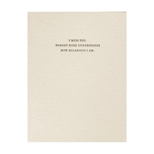 "Sapling Press ""Hilarious"" Greeting Card"