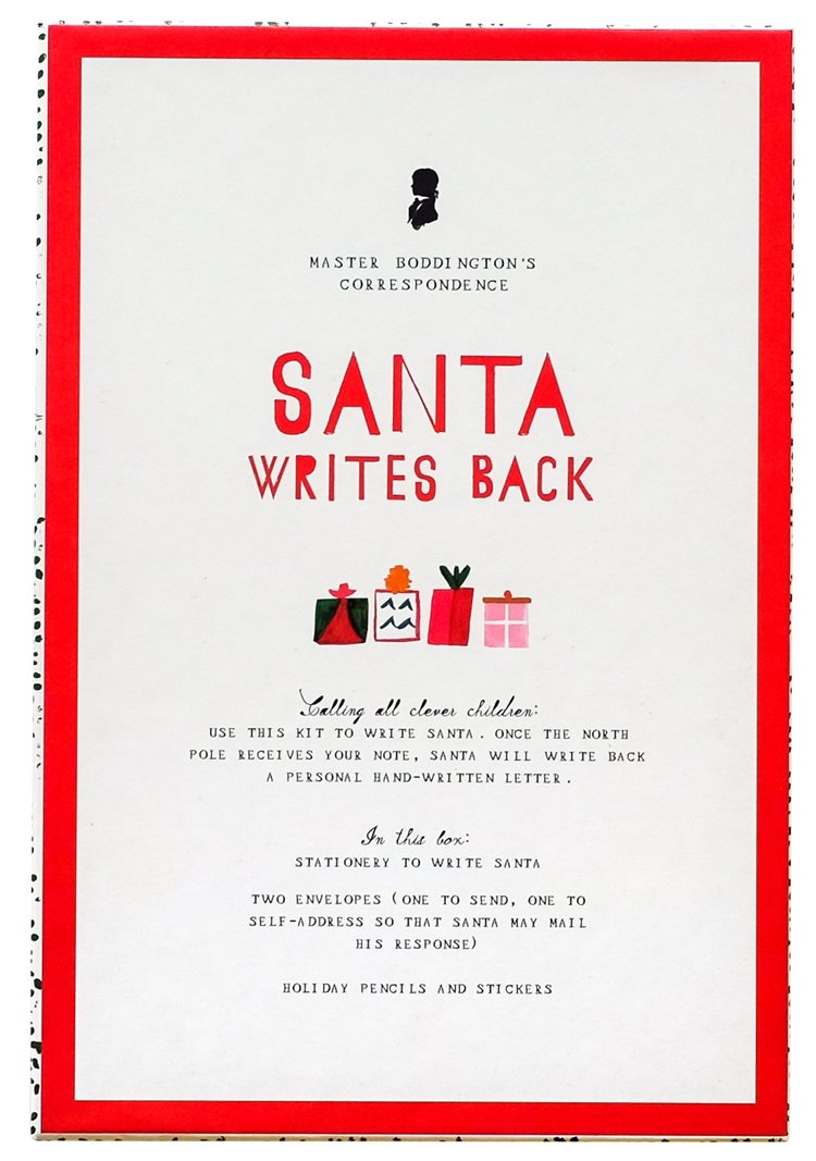 Mr. Boddington Santa Writes Back Stationery Kit
