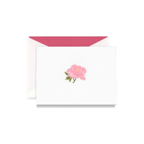 Bell'INVITO Engraved Dark Daisy Cards, Set of 12
