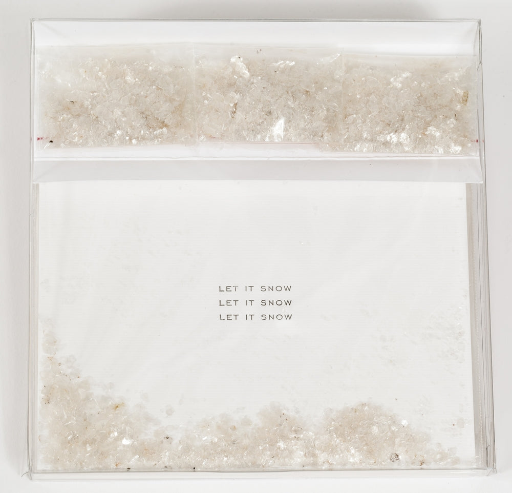 "Soolip ""Let it Snow"" Notecards, Set of 6"