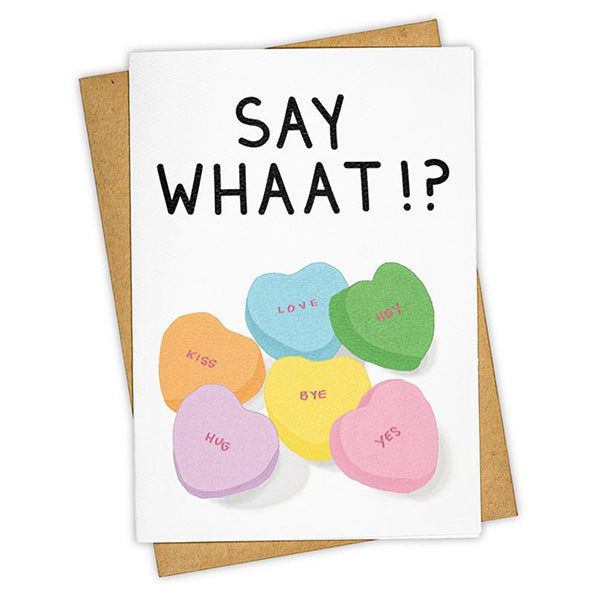 "Tay Ham ""Heart Candy"" Greeting Card"