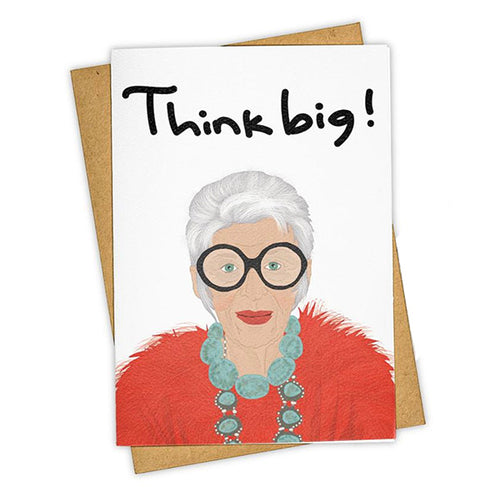 "Tay Ham ""Think Big"" Greeting Card"