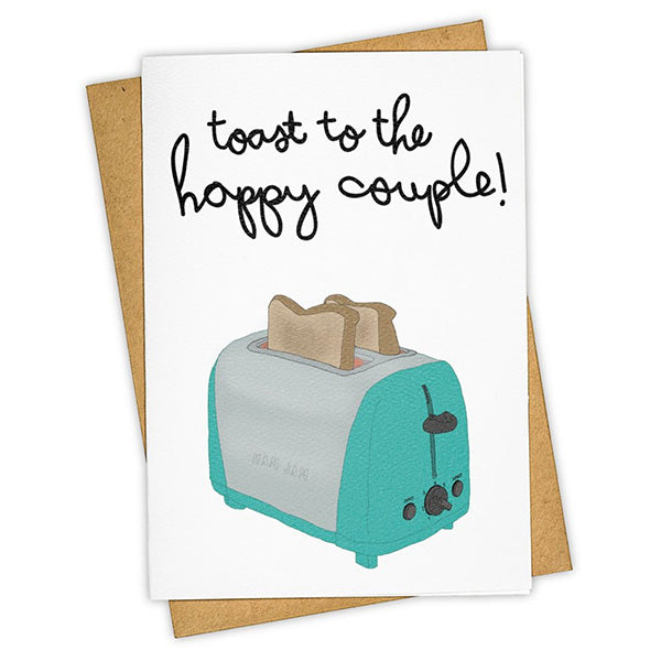 "Tay Ham ""Toaster"" Greeting Card"