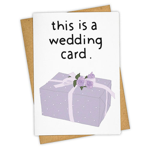 "Tay Ham ""Wedding Card"" Greeting Card"