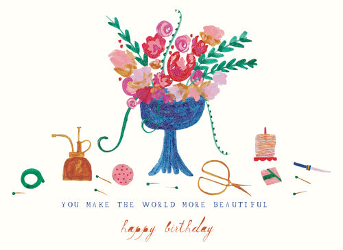 "Mr. Boddington ""The Florist Called"" Birthday Greeting Card"