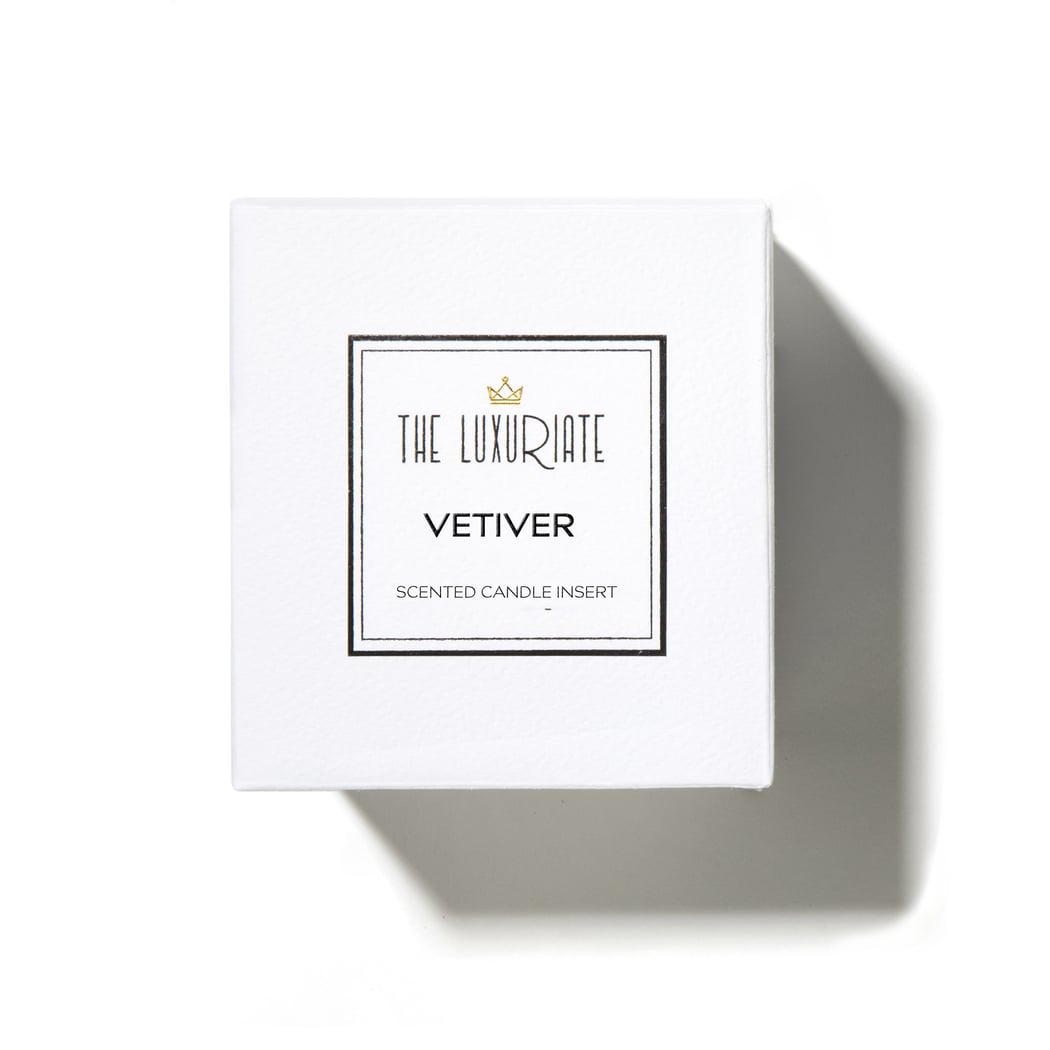 The Luxuriate Vetiver Candle Insert