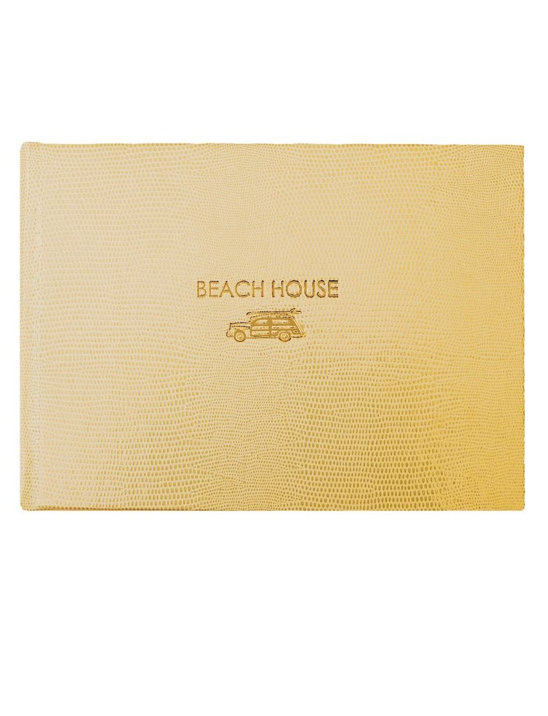 sloane stationery beach house guest book bespokedesigns