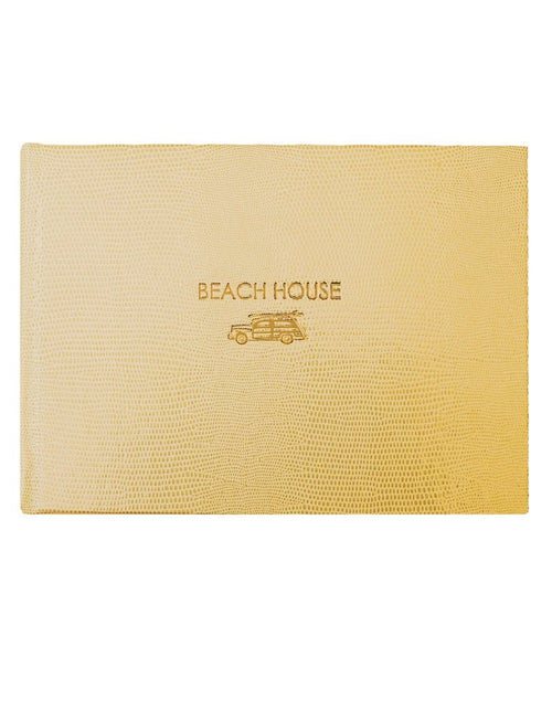 "Sloane Stationery ""Beach House"" Guest Book"