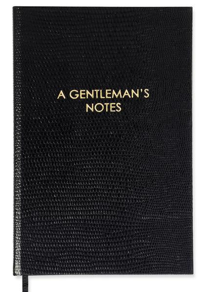 "Sloane Stationery ""A Gentleman's Notes"" Pocket Notebook"