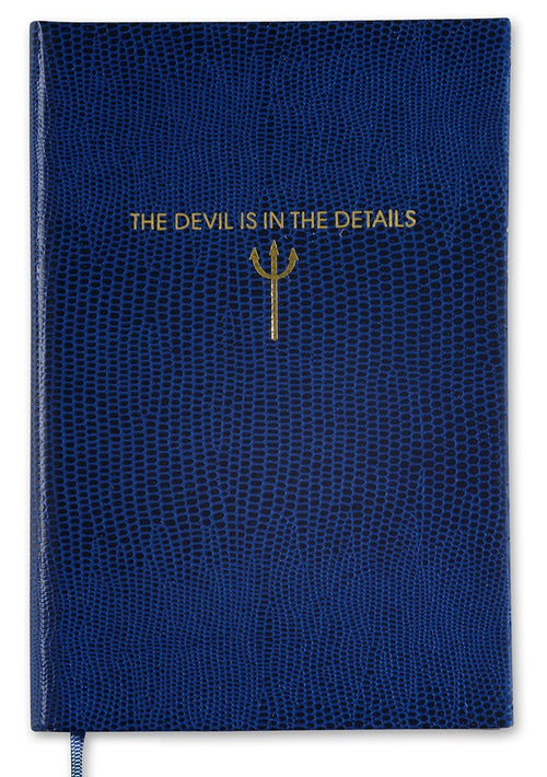 "Sloane Stationery ""The Devil is in the Details"" Pocket Notebook"