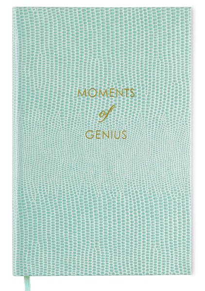 "Sloane Stationery ""Moments of Genius"" Pocket Notebook"