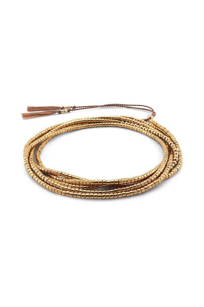 Abacus Row Gobi Wrap Bracelet/Necklace